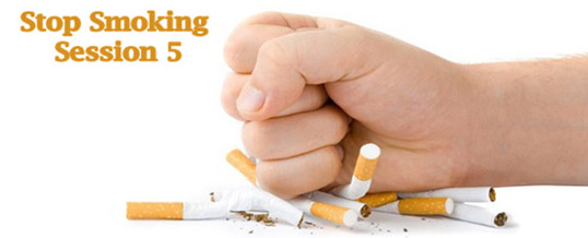 Stop Smoking Session V